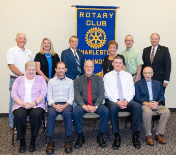 2017-2018 Charleston Rotary Club Board